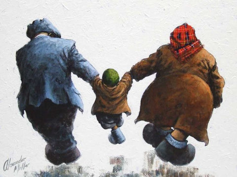 That's Our Boy Original by Alexander Millar *SOLD*