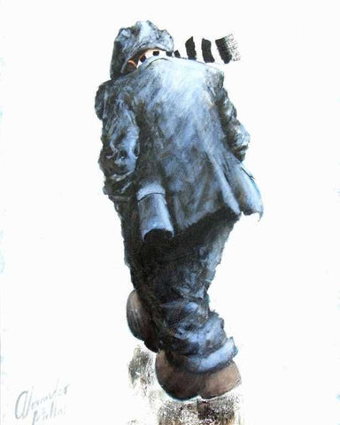 The Big Match Original by Alexander Millar *SOLD*