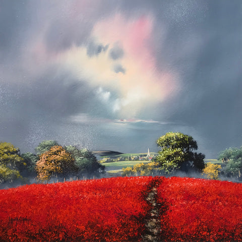 Shepherds Delight Original by Allan Morgan *NEW*-Original Art-Allan-Morgan-landscape-artist-The Acorn Gallery