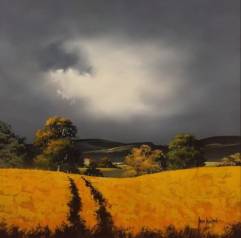Wolds Gold Original by Allan Morgan *SOLD*