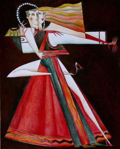 Tango Duende Original by Andrei Protsouk *SOLD*