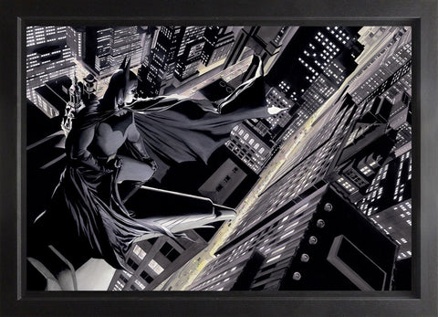 Batman Knight Over Gotham Canvas Deluxe by Alex Ross *NEW*