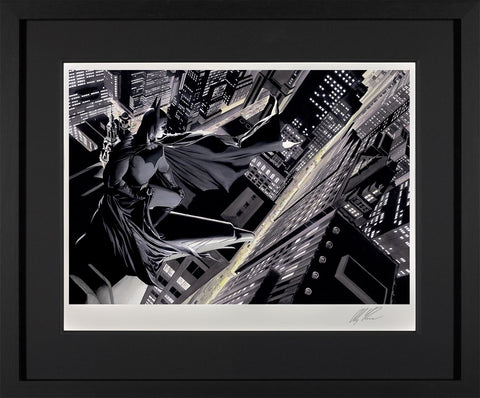 Batman Knight Over Gotham Paper by Alex Ross *NEW*