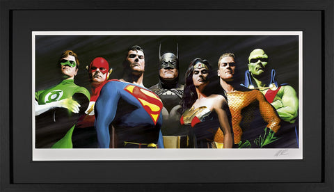 Original Seven Paper by Alex Ross *NEW*