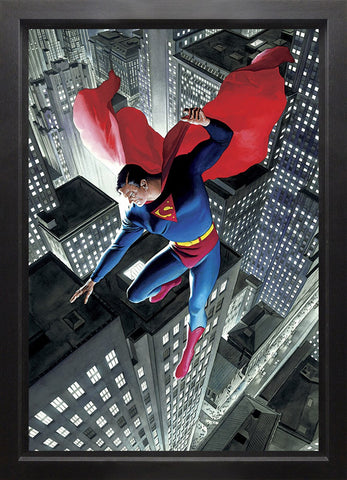 Superman Twentieth Century Canvas Deluxe by Alex Ross *NEW*