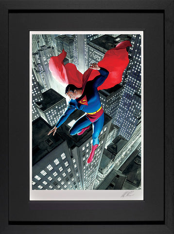 Superman Twentieth Century Paper by Alex Ross *NEW*