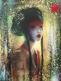 Geisha Original by Andrew Stewart-Original Art-The Acorn Gallery-Andrew-Stewart-artist-The Acorn Gallery