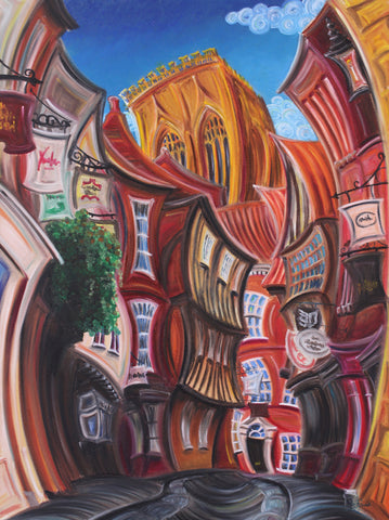 A Total Shambles by Rayford-Limited Edition Print-The Acorn Gallery-Rayford-artist-The Acorn Gallery
