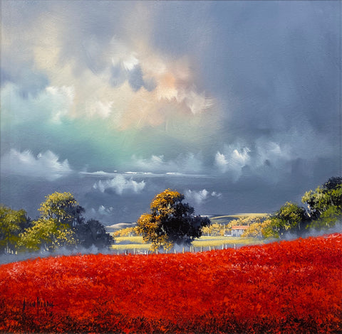 Poppies Original by Allan Morgan *SOLD*