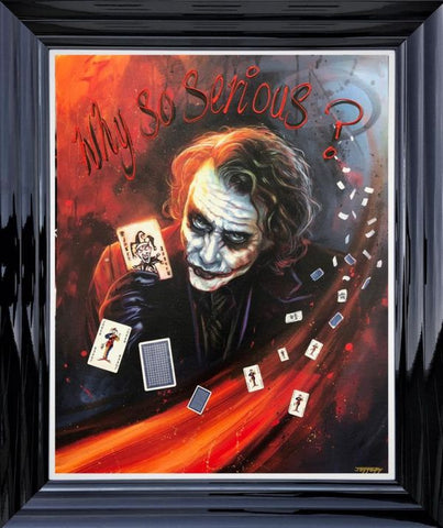 Why So Serious (Joker) by Ben Jeffery
