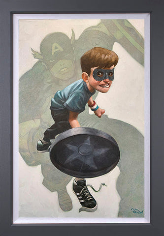 American Dream Canvas by Craig Davison