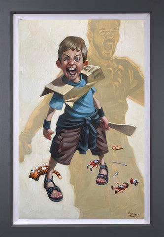 Are You Not Entertained? Canvas by Craig Davison
