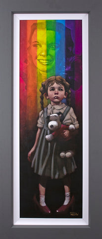 Birds Fly Over The Rainbow Canvas by Craig Davison
