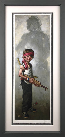 Don't Push It (Rambo) Paper by Craig Davison
