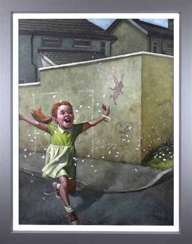 Faith, Trust And Pixie Dust Canvas by Craig Davison