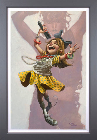 Get Into The Groove Canvas by Craig Davison