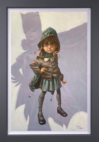 Gotham Girl Canvas by Craig Davison