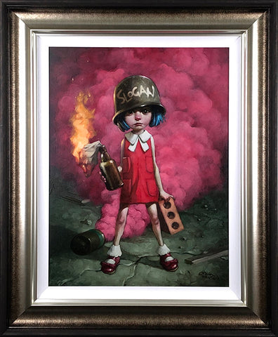 Guess Who Lost The Go In Go.For.It Canvas by Craig Davison