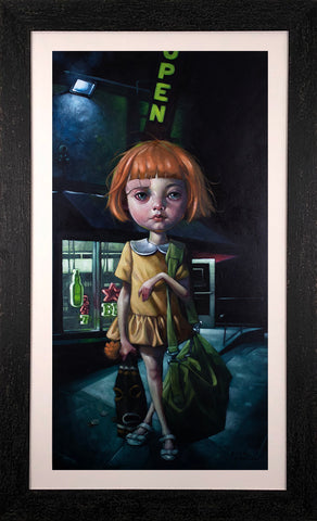 How Far Can Too Far Go...? Canvas by Craig Davison
