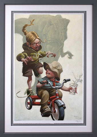 Keep Absolutely Still, Her Vision Is Based On Movement Paper by Craig Davison