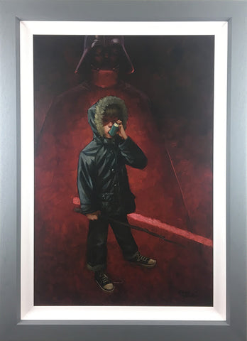 Kkhoooow - Kkhooow (Darth Vader) Canvas by Craig Davison