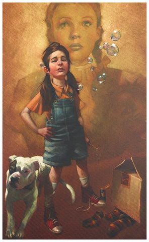 Now I Know We're Not In Kansas (Wizard Of Oz) Original by Craig Davison *NEW*