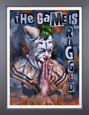 The Game Is Rigged by Craig Davison *NEW*