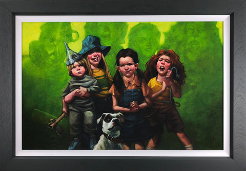 We're Off To See The Wizard Of Oz (Wizard Of Oz) Canvas by Craig Davison
