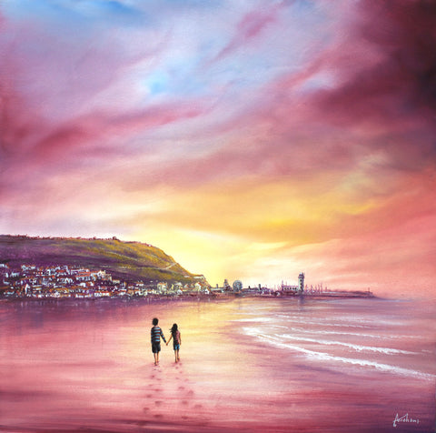 Close To My Heart (Scarborough Beach) Original by Danny Abrahams *SOLD*