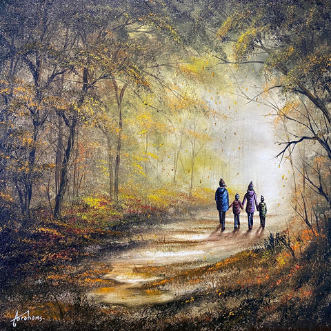 Family Time Original by Danny Abrahams *SOLD*