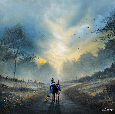 Together Is A Wonderful Place To Be Original by Danny Abrahams *SOLD*