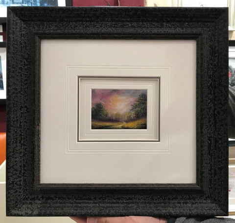 A Little Moment Of Peace Miniature Original by Danny Abrahams *NEW*