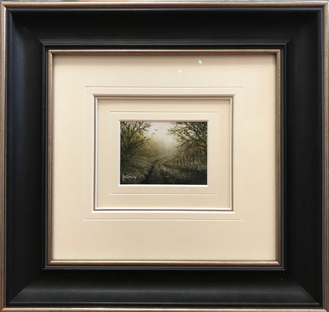 A Little Peace In The Morning Miniature Original by Danny Abrahams *SOLD*