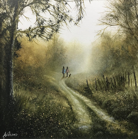 A Little Piece Of Autumn Original by Danny Abrahams *SOLD*