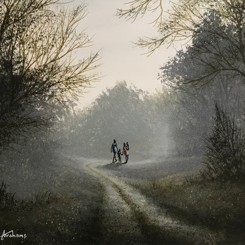 A Perfect Autumn Day Original by Danny Abrahams *SOLD*