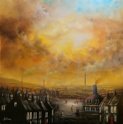 A Quick Pint After Work Original by Danny Abrahams *SOLD*