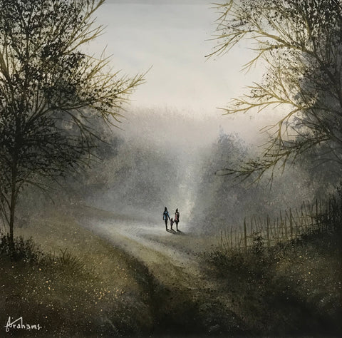 Autumn Days Original by Danny Abrahams *SOLD*
