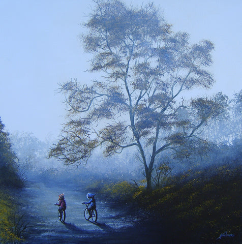Autumn Mist Original by Danny Abrahams *SOLD*