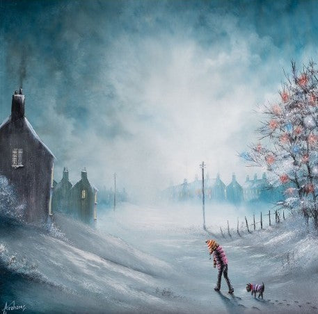 Brrr! Its Been A Cold One Today by Danny Abrahams-Limited Edition Print-Danny-Abrahams-artist-The Acorn Gallery