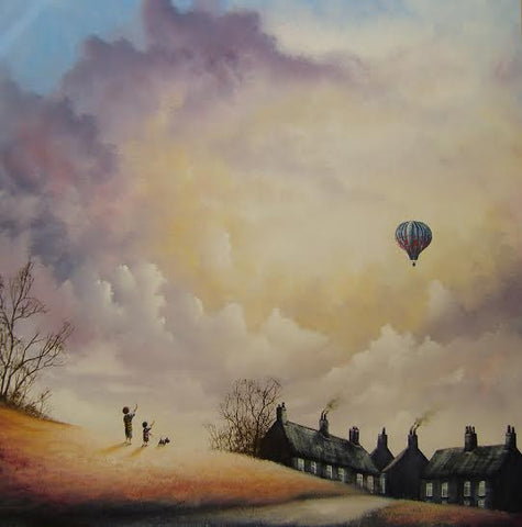 Gone with The Wind Original by Danny Abrahams *SOLD*