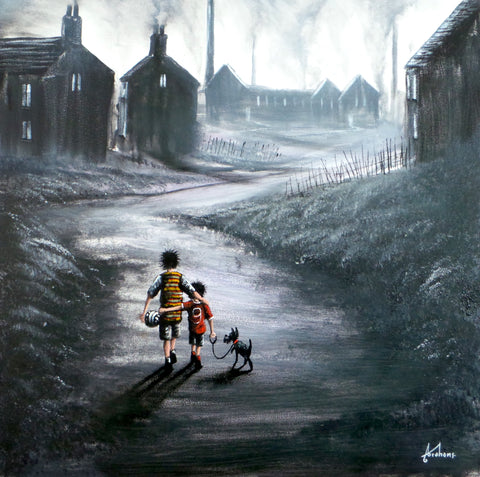 Home Time Original by Danny Abrahams *SOLD*