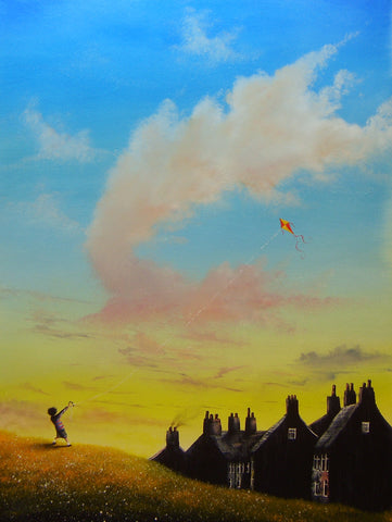 I Love Mi Kite Original by Danny Abrahams *SOLD*