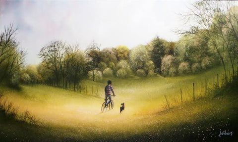Its A Wonderful Life Original by Danny Abrahams *SOLD*