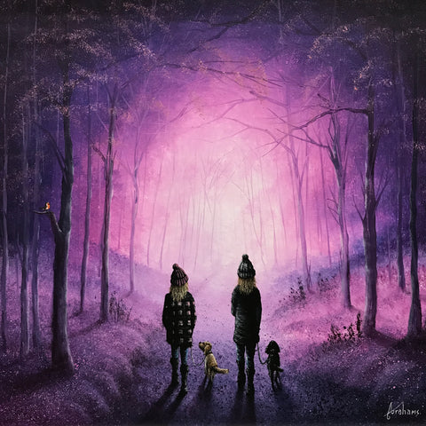 Leading the Way Original by Danny Abrahams *SOLD*