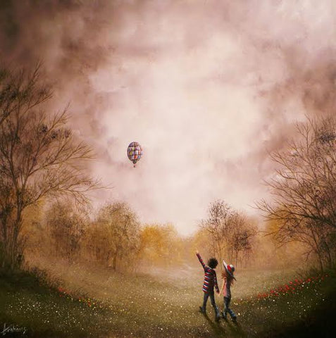 Like Dreamers Do Original by Danny Abrahams *SOLD*
