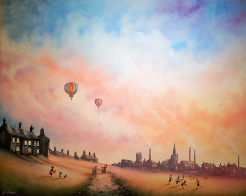 Live Life To The Fullest Original by Danny Abrahams *SOLD*