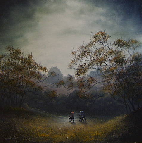 Sauntering Home Original by Danny Abrahams *SOLD*