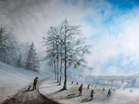 There's No Business Like Snow Business by Danny Abrahams-Limited Edition Print-Danny-Abrahams-artist-The Acorn Gallery