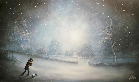 Walking In A Winter Wonderland Original by Danny Abrahams *SOLD*