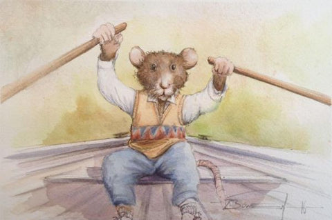 Ratty Ahoy Original by Dale Bowen